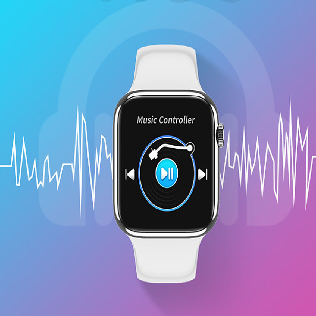 W98 Smartwatch for Apple/Android/Samsung Phones, Sports Tracker Support Bluetooth Call/Heart Rate/Blood Pressure/Blood-oxygen Measure