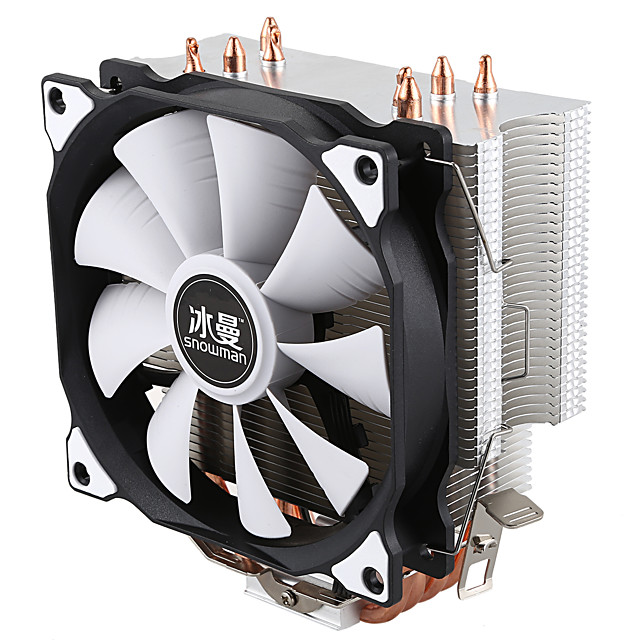 CPU 4 CPU cooling system with Pure Copper Cooling Tower