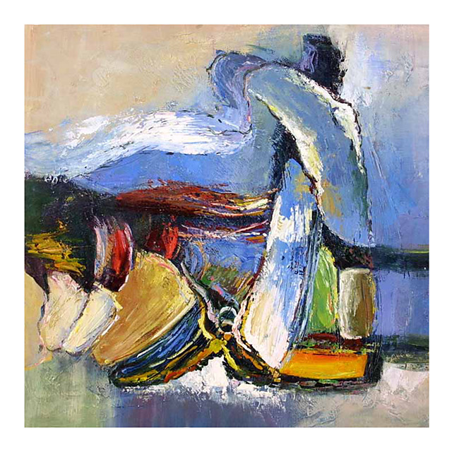 100% Hand Painted Contemporary Art Oil Paintings on Canvas Modern Stretched and Framed Abstract Artwork Ready to Hang