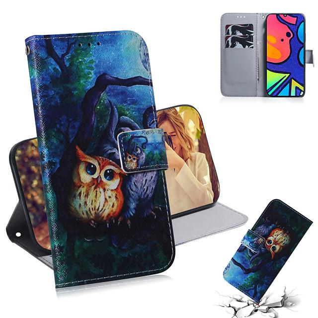 Case For Samsung Galaxy Galaxy Note 20 Ultra / Galaxy A51 / Galaxy S10 Lite Shockproof Full Body Cases Animal PU Leather / TPU