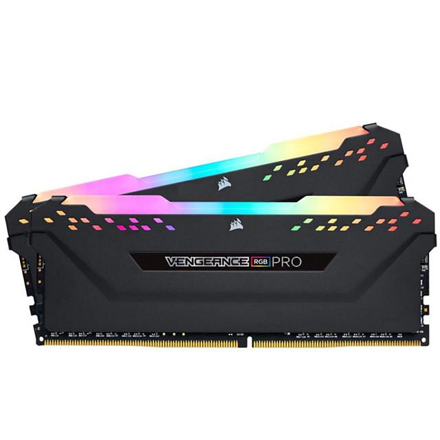 CORSAIR-Desktop memory ddr4 pc4 8GB 3000MHz RGB PRO DIMM support motherboard 8g 16G 3000Mhz 3200mhz 16gb 32gb RAM