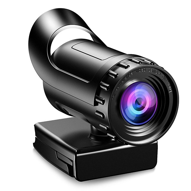 Webcam HD Desktop Laptop PC Web Camera 2k with Microphone USB Plug and Play Teaching Live Conference Computer Cameras HD 2k