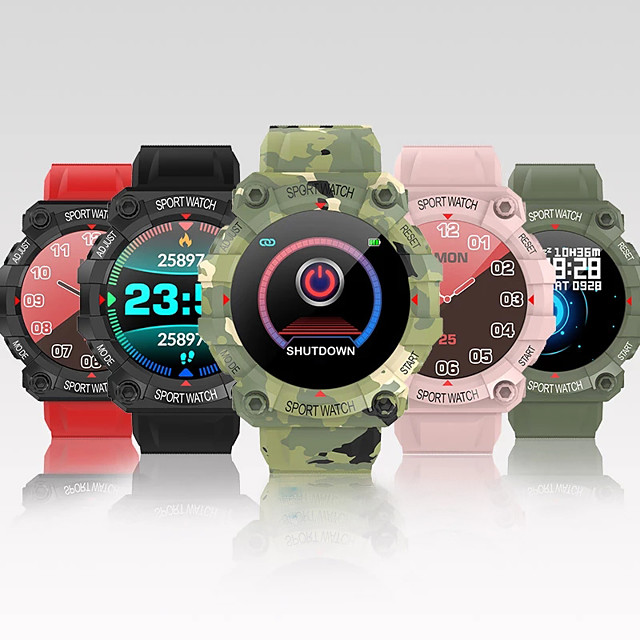 FD68 Long Battery-life Smartwatch Support Heart Rate Measure, Sports Tracker for Android/IOS/Samsung Phones