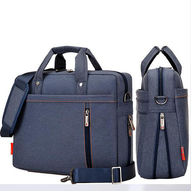 Shockproof Laptop Air Bag Waterproof Laptop Bag 12 13 14 15 17inch Large Size Messenger Shoulder Bag