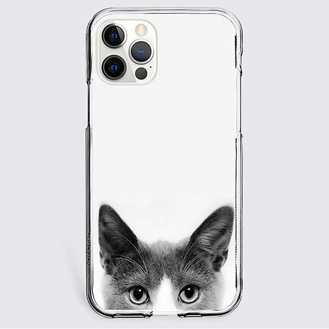Black Cat Case For Apple iPhone 12 iPhone 11 iPhone 12 Pro Max Unique Design Protective Case Shockproof Back Cover TPU