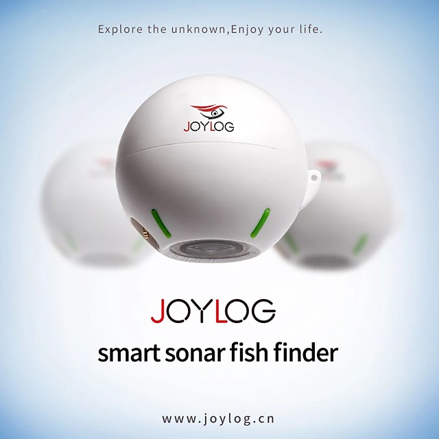 Wireless Bluetooth Sonar Echo Sounder Fishing Finder 40m 130 Feet Deeper Fish Finder Probe Lithium Battery Ios Android App