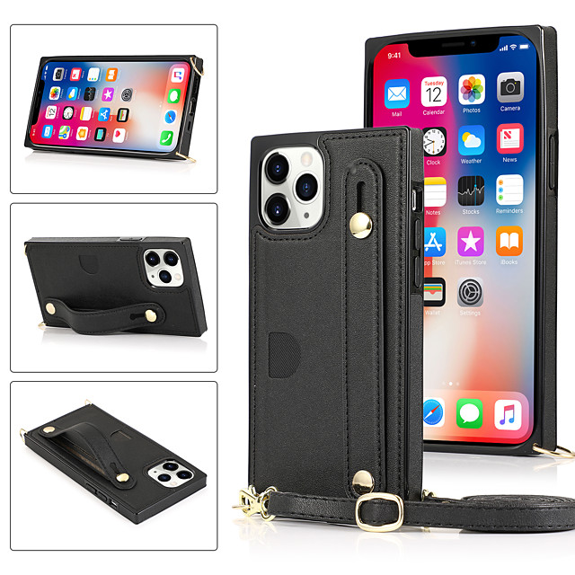 Case For Apple iPhone 12 / iPhone 11 / iPhone 12 Pro Max Shockproof Back Cover Solid Colored TPU