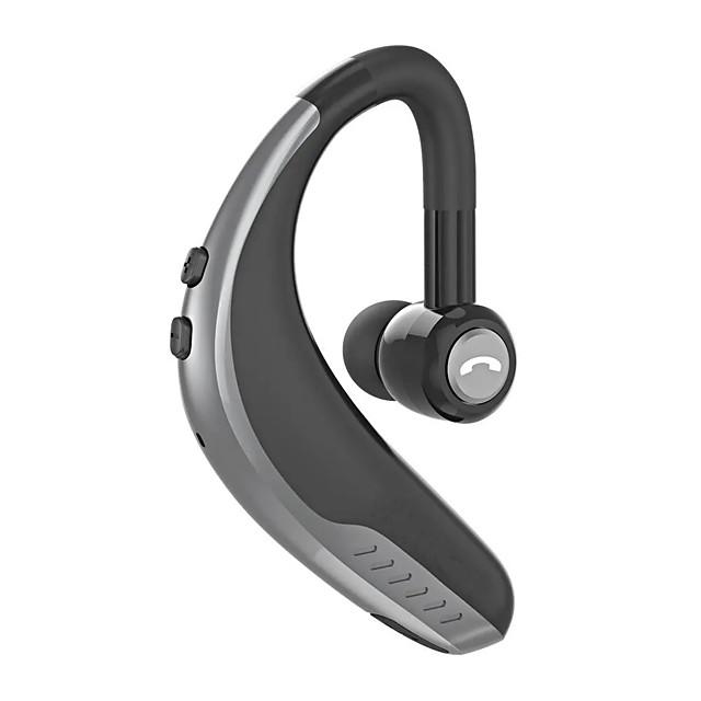 Driving Business Office Headset HD Calls Wireless Bluetooth 5.0 Earphone Light Single Business Sports Earhook Handsfree Headphone With Microphone-WAZA D1