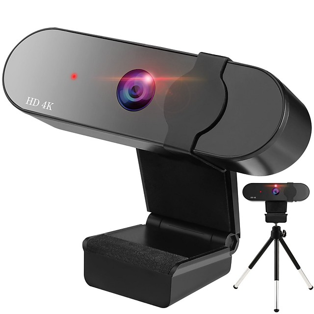 HD 4k Webcam PC Computer Camera Auto Focus USB Web Camera Laptop Camera With Built-in Microphone For Video Live