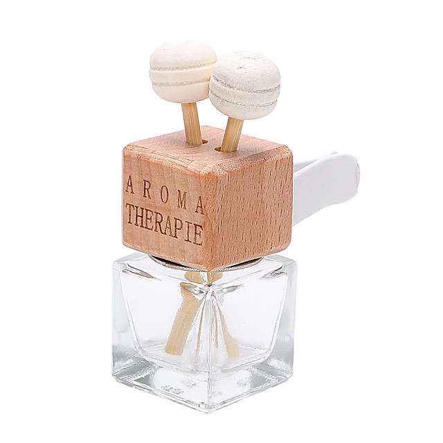 Car Air Freshener Hanging Glass Bottle for Essential Oils Car Perfume Bottle Crystal Car-styling Auto Ornament Perfume Pendant