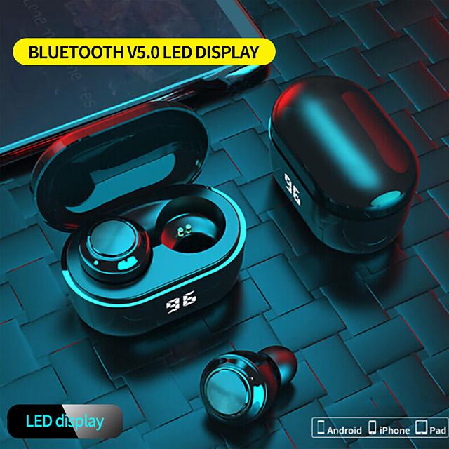 A6 Bluetooth Headset Tws Wireless Bluetooth 5.0 Binaural Stereo In-ear Digital Display Ultra-light And Portable