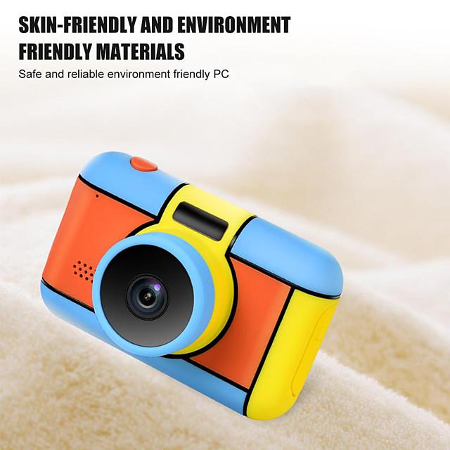 Children's Camera Wholesale Hd Digital Camera Toy Sports Small Slr Mini 2.4 Inch Explosion
