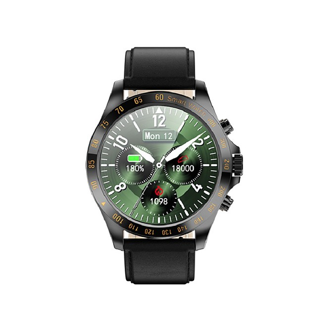 WAZA LW09 Water-resistant Smartwatch Support Heart Rate/Blood Pressure Measure, Sports Tracker for Android/IOS Phones