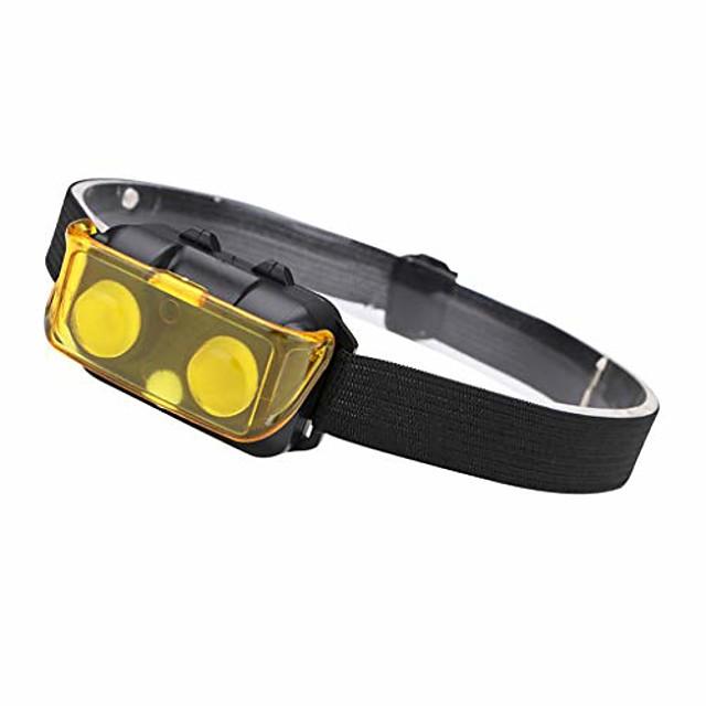 cob led headlight headlamp head torch fishing run camping lamp light flashlight black