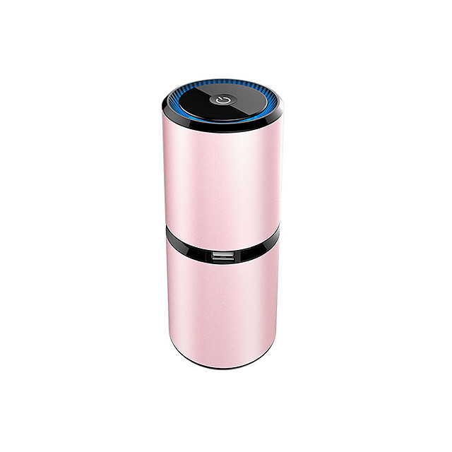 Mini Car Air Purifier Portable Negative Ion Purifiers USB Air Purifier Anion Air Cleaner Freshener for Car Home Office