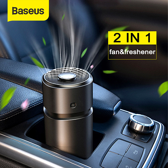 BASEUS Car Air Purifiers Common Car perfume Stainless steel Aromatic function