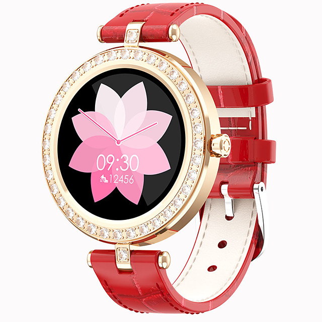 S28 Women Smartwatch for Android/IOS/Samsung Phones, Long Battery-life Sports Tracker Support Heart Rate/Bluetooth Play Music