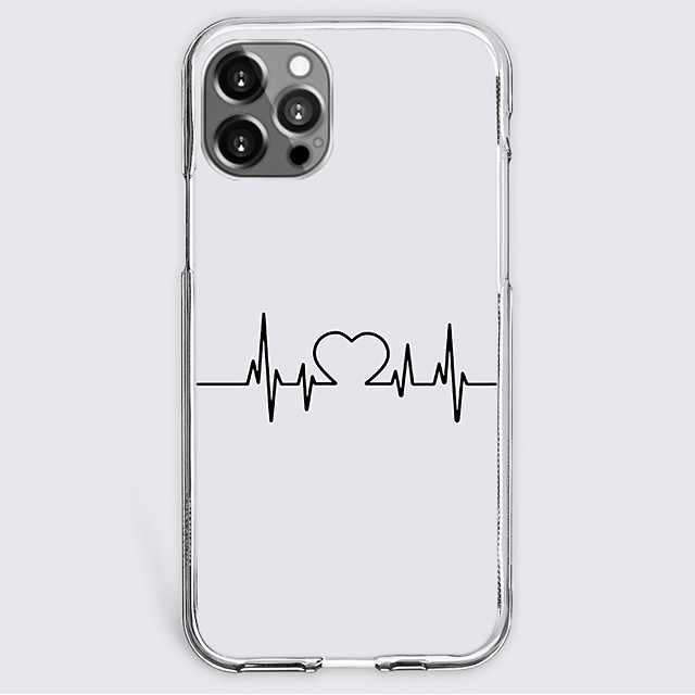 Heart Fashion Case For Apple iPhone 12 iPhone 11 iPhone 12 Pro Max Unique Design Protective Case Shockproof Back Cover TPU