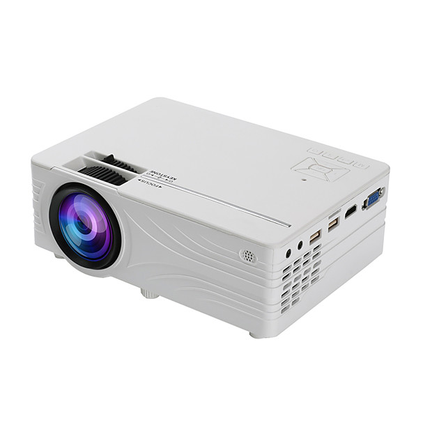 SD100 HD Portable Led home Theater Projector with Synchronize Smartphone Screen 2000lumen 1280*720 Resolution 40-120 inch Support 1080p USB VGA SD PC RGB Beamer