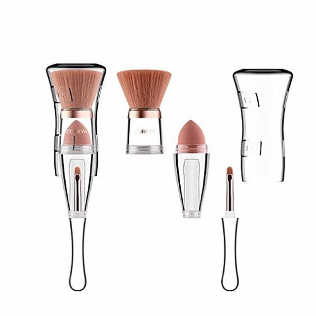 3 in 1 Professional Makeup Brush Set Foundation Blend Concealer Eye Liquid Cream Brush Set