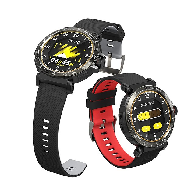 WAZA Full Screen Touch Dymanic UI Display Heart Rate Blood Pressure Oxygen Monitor Weather Push Smart Watch