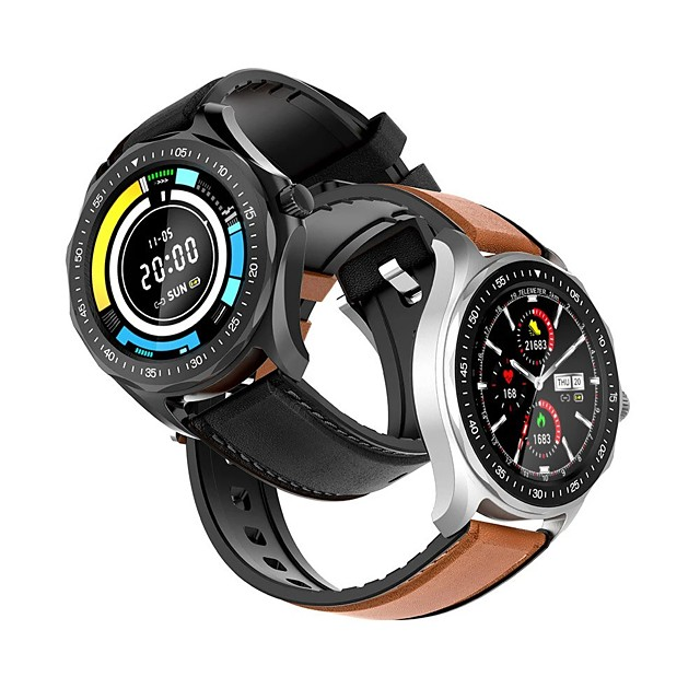 WAZA Full-touch Screen Heart Rate Blood Pressure Oxygen Monitor Running Route Track BTV5.0 Smart Watch