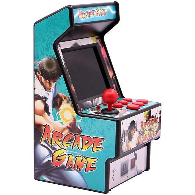156 Games Gry ręczne Konsola do gier Mini Retro Arcade Mini kieszonkowy przenośny kieszonkowy Wbudowana karta do gry Obsługa wyjścia telewizyjnego Klasyczny styl Pojazdy Retro gry wideo z 2.8 in Ekran