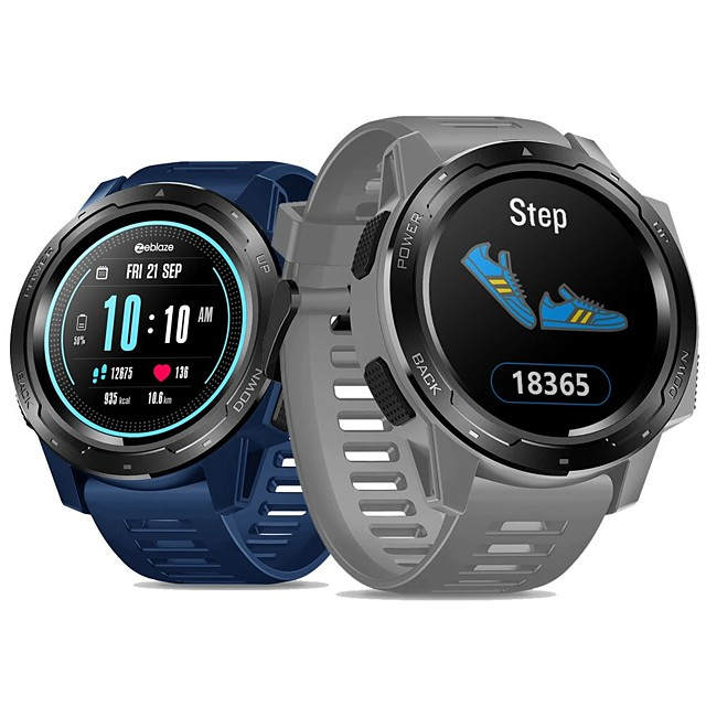 Zeblaze VIBE 5 Men Women Smartwatch Android iOS Bluetooth Touch Screen Heart Rate Monitor Sports Smart Community Share