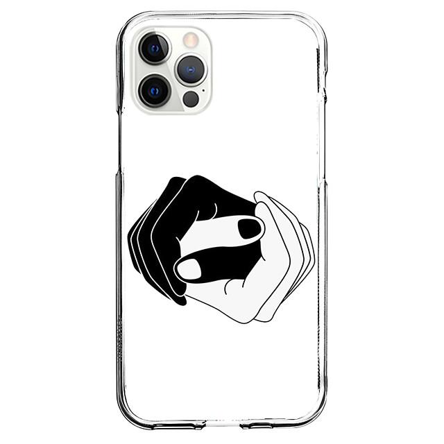 Novinka Módní Případ Pro Jablko iPhone 12 iPhone 11 iPhone 12 Pro Max Unikátní design Ochranný obal Nárazuvzdorné Zadní kryt TPU