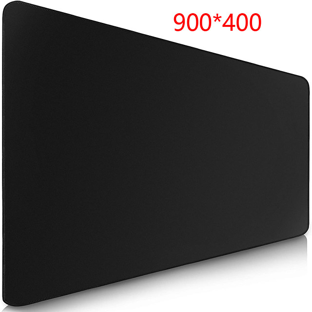 All Black 900*400 mm Gaming Mouse Pad / Keyboard Pad / Large Size Desk Mat Rubber Dest Mat