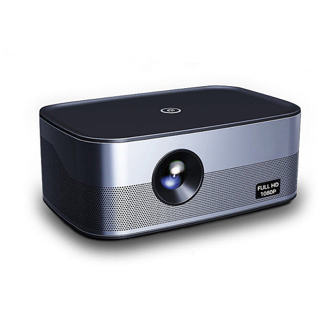 Smart Projector T500 Android Wifi Porjector With Bluetooth 6000 Lumens Full HD 4K LED 1080P Hologram Projector