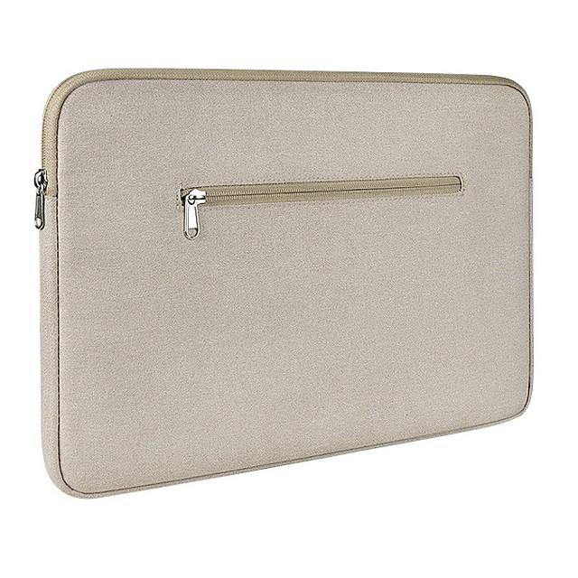 Unisex Waterproof Walking Polyester Laptop Bag Zipper Solid Color Daily Office & Career Black Khaki Gray