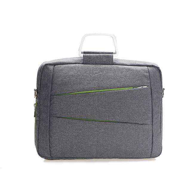 Unisex Bags Polyester Top Handle Bag Zipper Office & Career Handbags Black Gray