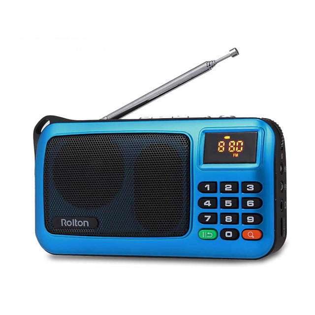 w405 portable radio fm radio speaker music player