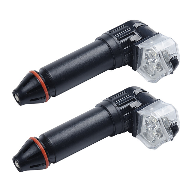 LED Bike Light Waterproof LED Light Bulbs Bar End Light LED Bicycle Cycling Waterproof Portable Professional USB Charging Output AA / 14500 400 lm Cycling / Bike