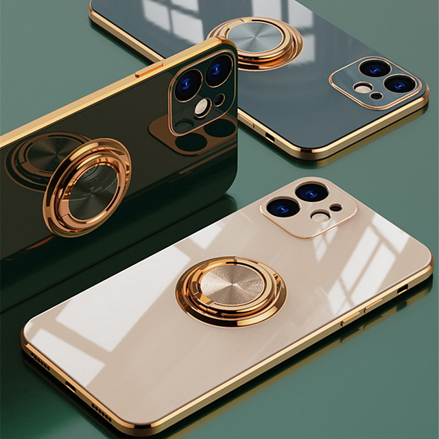 telefon Maska Pentru Apple Capac Spate Silicon iPhone 12 Pro Max 11 SE 2020 X XR XS Max 8 7 Anti Șoc rezista Placare Mată TPU