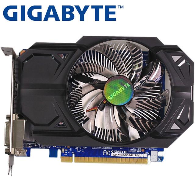 Factory Outlet Video Graphics Card GTX750Ti 1059/1137 MHz 5000MHz MHz 1 GB / 128 bit GDDR3