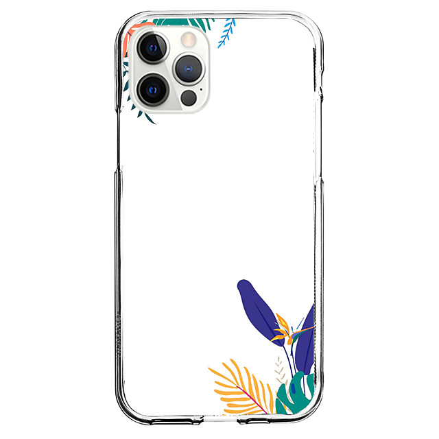 Plants Novelty Case For Apple iPhone 12 iPhone 11 iPhone 12 Pro Max Unique Design Protective Case Shockproof Back Cover TPU