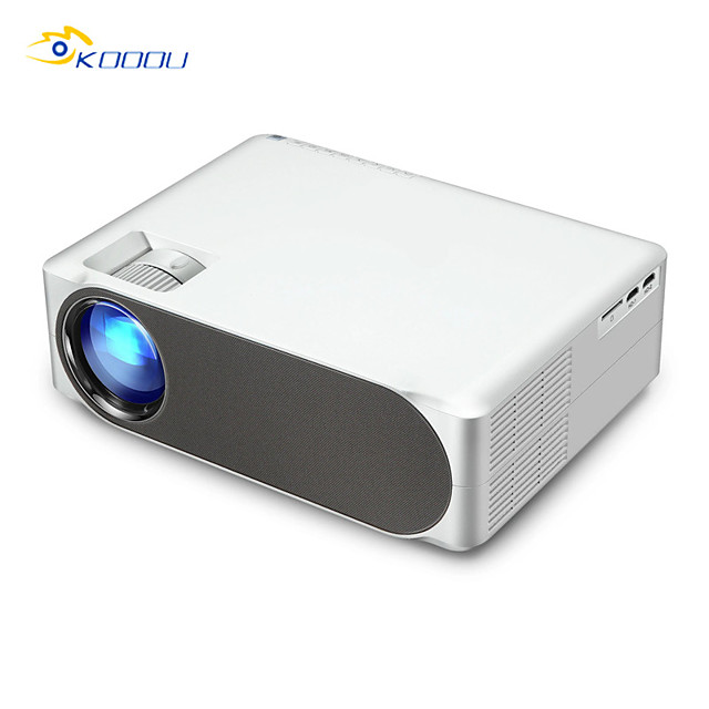 Android Version KOOOU M19UP Projector Full HD 1080P Resolution 6800 Lumens 1G8G WIFI 2.4G Bluetooth 4.0 Built in Multimedia System Video Beamer LED Projector for Home Theater