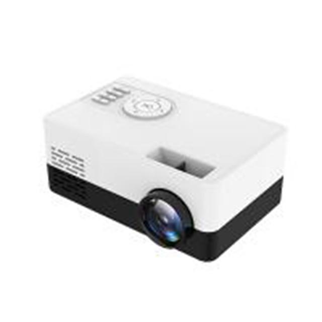 New J15 Portable Mini Projector 1080P Support 23 languages AV USB SD Card USB Mini Home Projector Portable Pocket Beamer PK J9