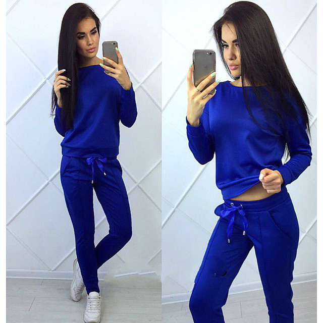 Women's 2 Piece Tracksuit Sweatsuit Athletic Athleisure 2pcs Winter Long Sleeve Thermal Warm Moisture Wicking Breathable Fitness Gym Workout Running Jogging Exercise Sportswear Solid Colored Normal