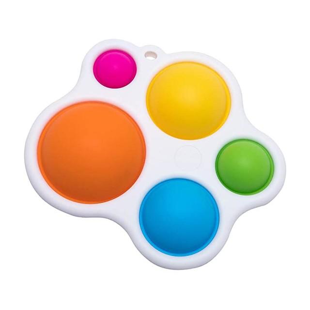 Educational Toy Sensory Fidget Toy 1 pcs Intelligence Motor Skills Development Silicone Plastic Shell For Kid's Adults' Boys and Girls