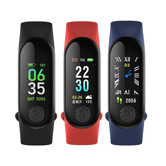 XANES m30 Men Women Smartwatch Android iOS Bluetooth Heart Rate Monitor Blood Pressure Measurement Sports Smart Timer Stopwatch Pedometer Sedentary Reminder Alarm Clock