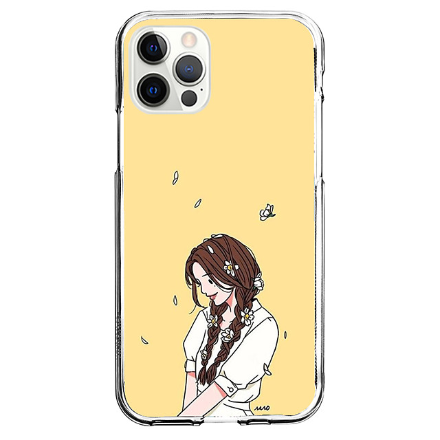 Anime Fashion Case For Apple iPhone 12 iPhone 11 iPhone 12 Pro Max Unique Design Protective Case Shockproof Back Cover TPU