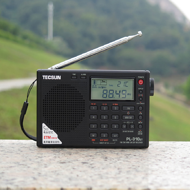 pl-310et full band digital demodulation stereo student specified radio