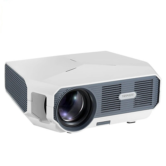 KOOOU ET10-AD LED Projector 3800 Lumen Android 6.0 1GB8GB Wifi Bluetooth Support 1080P 30001 Contrast Ratio Video 3D Mini Beamer Andorid Version