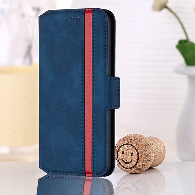 Phone Case For Samsung Full Body Case Wallet Card S20 S20 Plus S20 ultra S9 S9 Plus A51 S10 S10 Lite Galaxy S10 E A50 Wallet Shockproof Magnetic Solid Colored PU Leather TPU