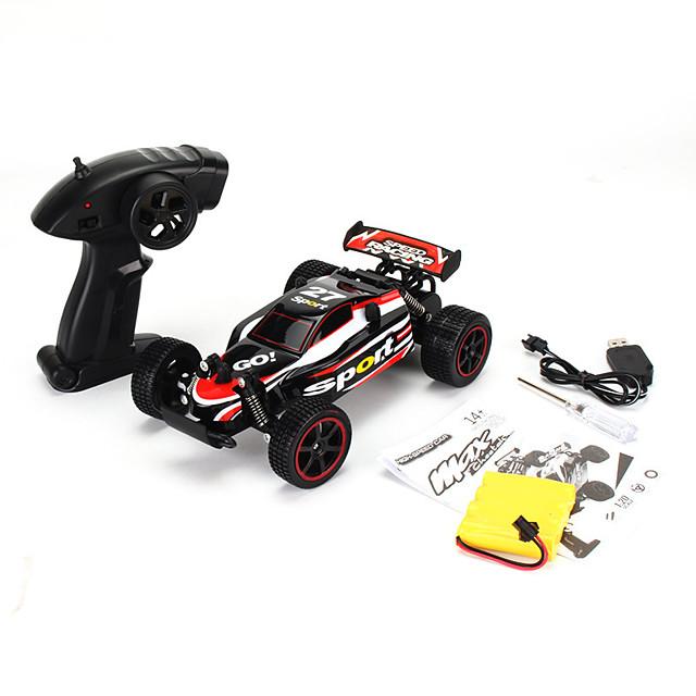 high-speed remote control car,1:18 electric car charging wireless remote control 2.4g drift high speed car model toy,green
