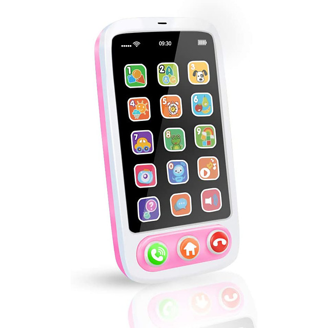 Toy Phone Educational Toy Electronic Organ Y-phone Rechargeable Music Lovely Simulation Music & Light Education with Screen Kid's Baby Boys' Girls' 1 pcs Toy Gift