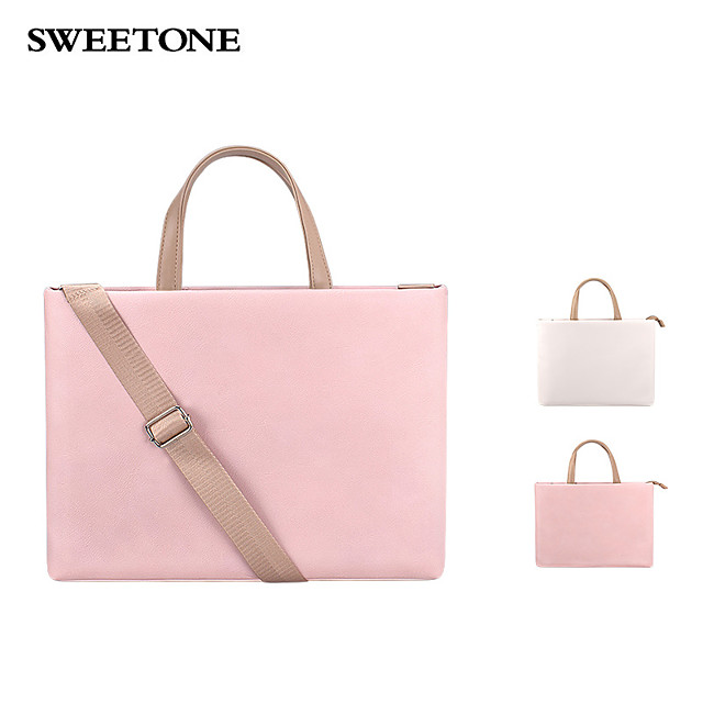 Laptop Bag Shoulder Briefcase Bag Laptop Bag Messenger Handbag 15.6 Inch